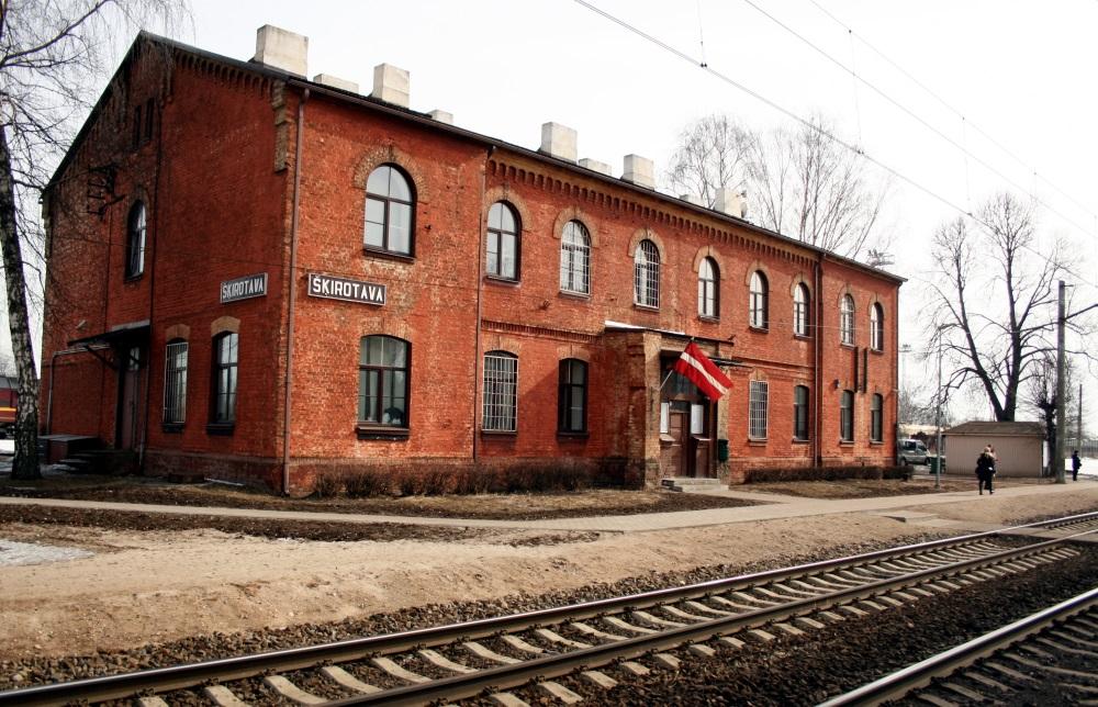 Šķirotavas stacija Rīgā.