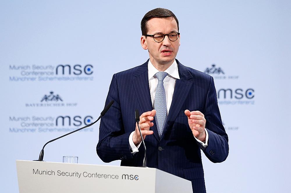 Polijas premjerministrs Mateušs Moraveckis.