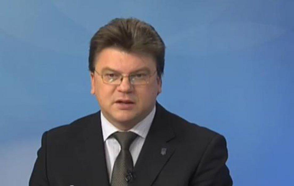 Ukrainas jaunatnes un sporta ministrs Ihors Ždanovs