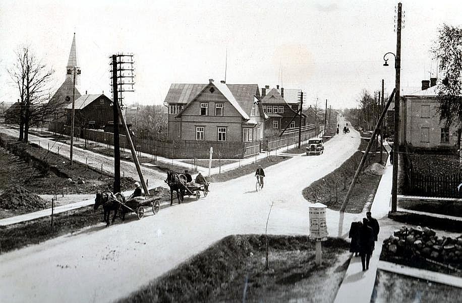 Abrene 1938. gadā.