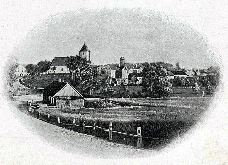 Saldus jeb Frauenburga 20. gs. sākumā.