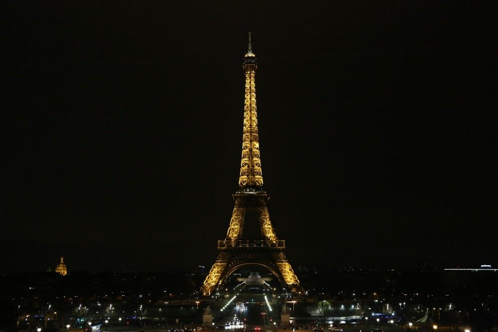 Parīzē slēgts Eifeļa tornis streika dēļ, 13.04.2018.