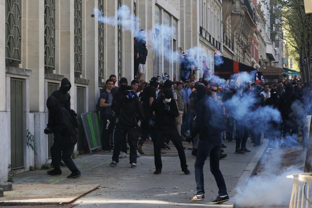 Protesti Francijā, 19.04.2018.