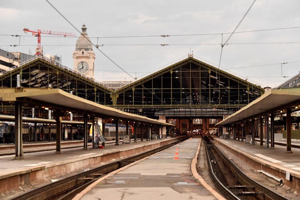Parīzes dzelzceļa stacija, 03.04.2018.