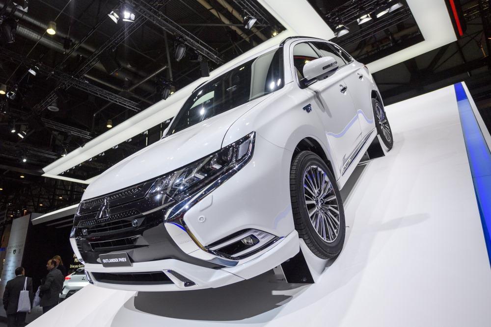 Ilustratīvs foto. Mitsubishi Outlander PHEV, 2018. Ministru prezidents Māris Kučinskis pērn iegādājies Mitsubishi Outlander, kas ražots 2017.gadā.