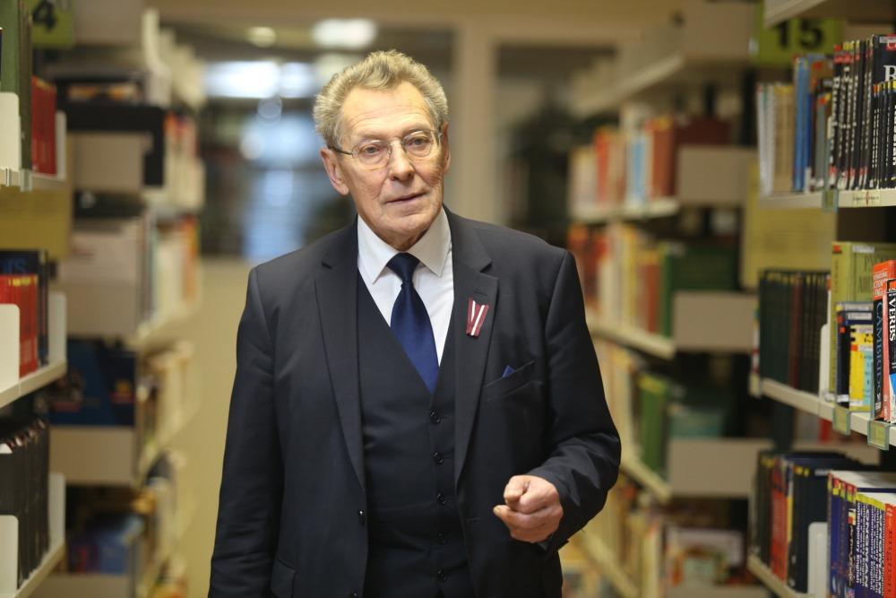"""Jānis Načisčionis, Biznesa augstskolas """"Turība"""" profesors."""