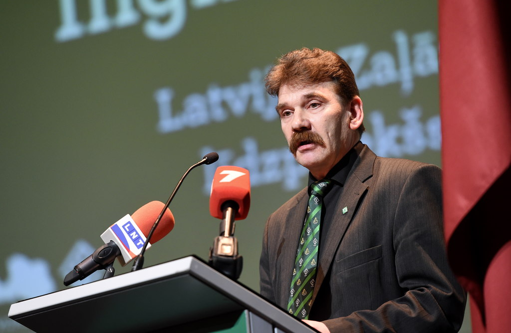 Latvijas Zaļās partijas (LZP) kongresā par šī politiskā spēka domes priekšsēdētāju ievēlēts Ingmārs Līdaka.