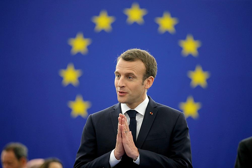 Francijas prezidents Emanuels Makrons otrdien Strasbūrā Eiropas Parlamenta priekšā sniedz savu redzējumu par Eiropas Savienības nākotni.