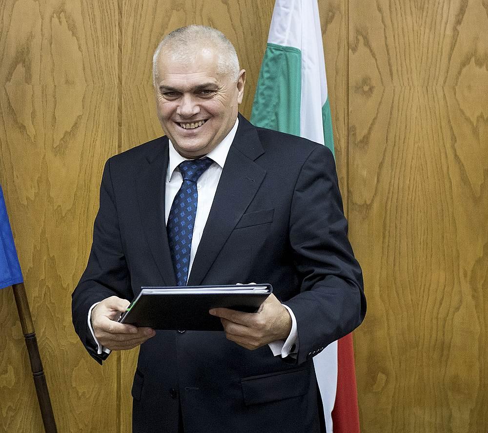 Bulgārijas iekšlietu ministrs Valentīns Radevs
