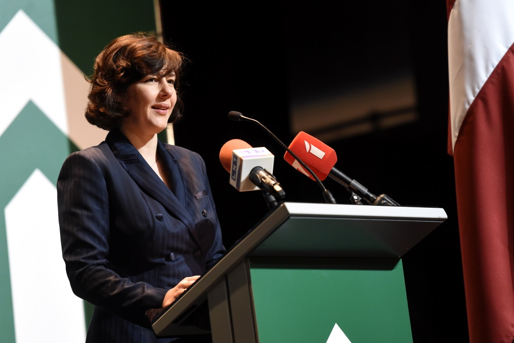 Finanšu ministre Dana Reizniece-Ozola.