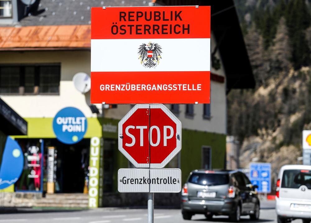 Austrijas robeža.
