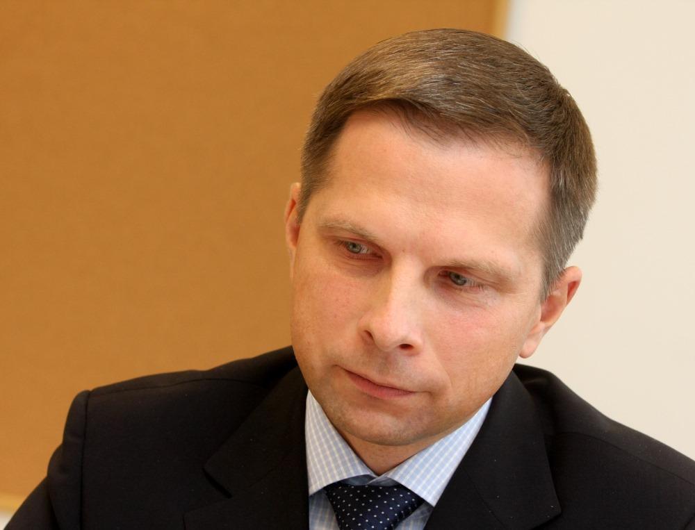 "SIA ""CPM Trading"" valdes loceklis Rolands Pētersons."