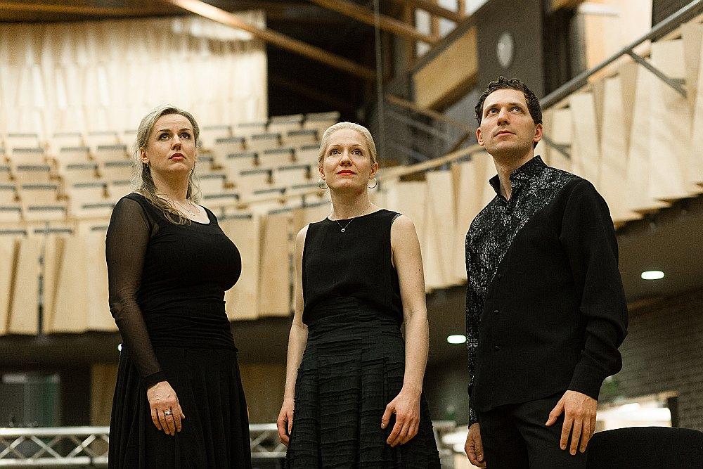 """Ansamblis """"Trio Palladio""""."""