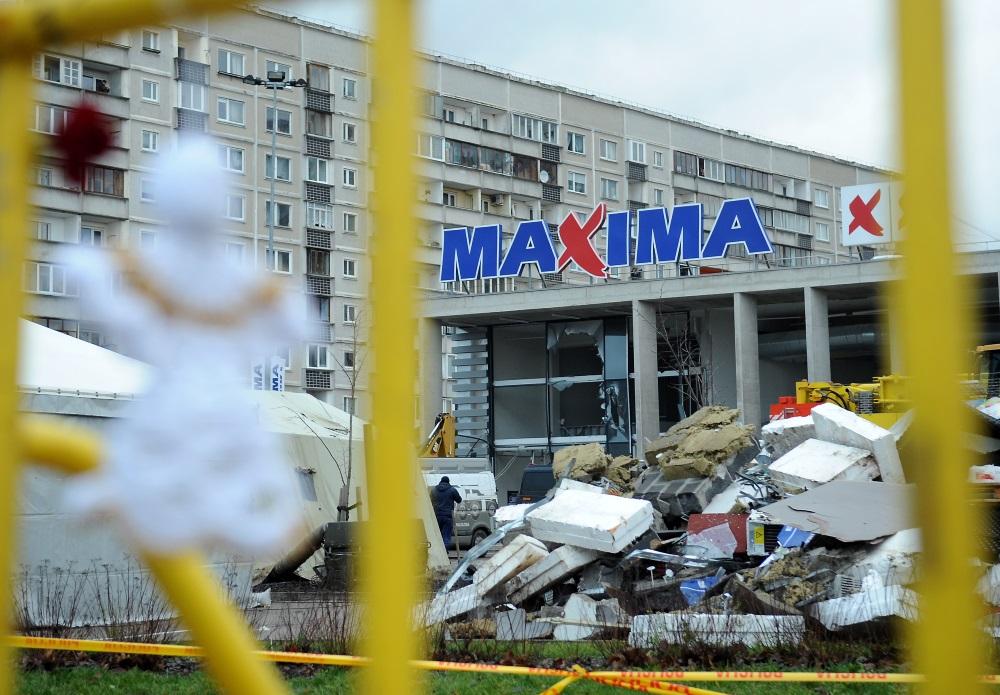 """Traģēdija Zolitūdē, veikalā """"Maxima""""."""
