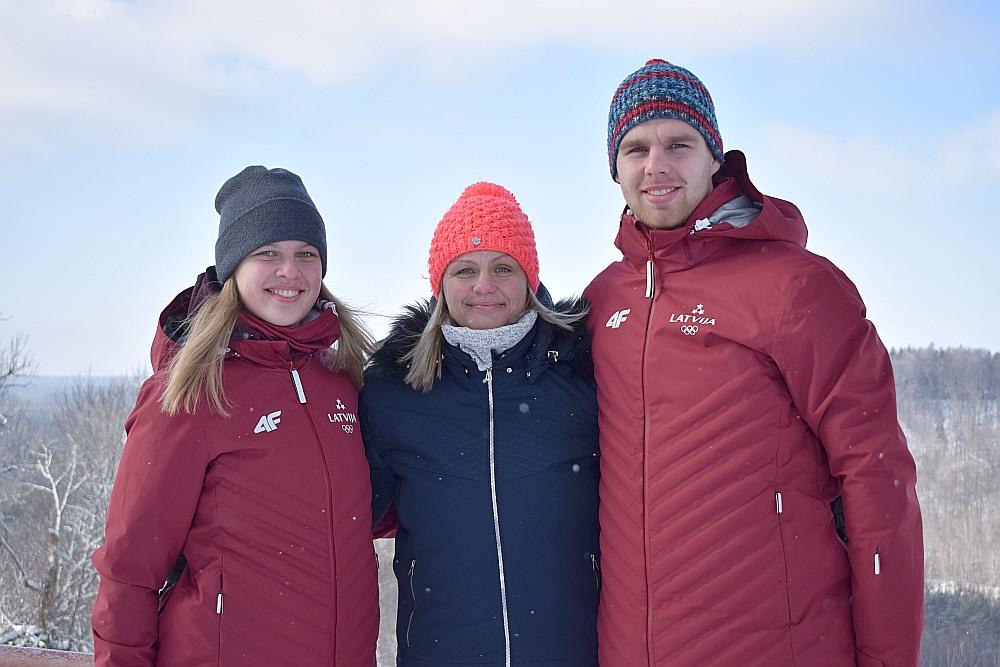 """Kendija, Aiva un Kristers Aparjodi: """"Mums ir kopīgs ceļš ejams, sports mūs vieno."""""""