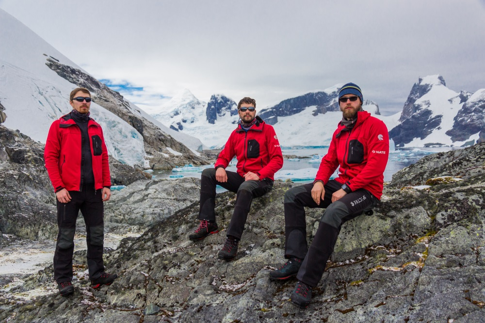 Latvijas ģeologi atgriežas mājās no ekspedīcijas Antarktikā, 18.04.2018.