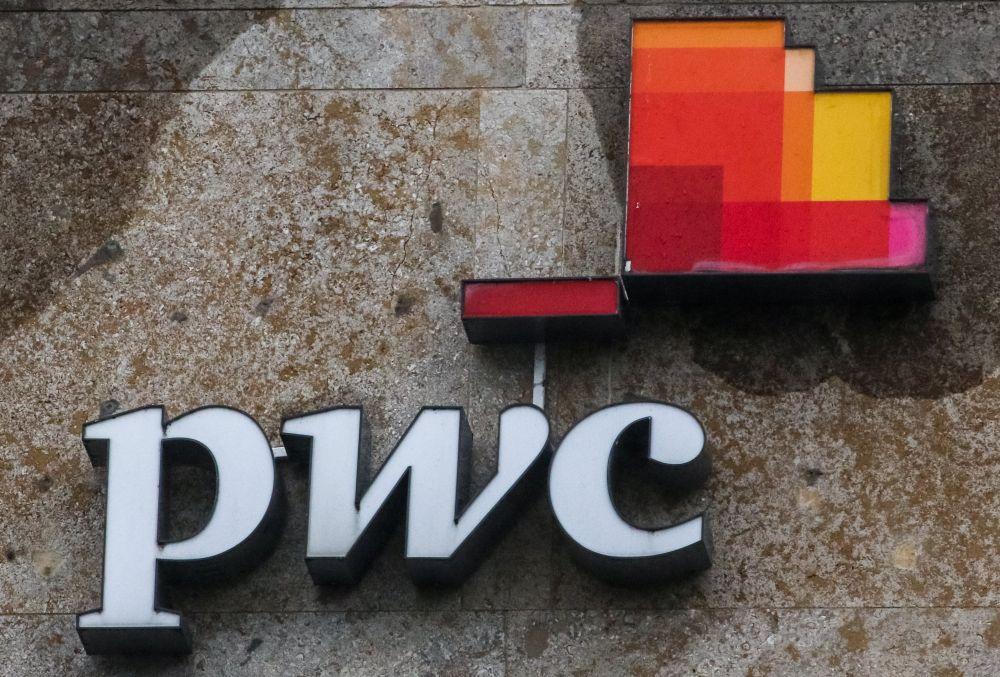 """PricewaterhouseCoopers"" (""PwC"") logo"
