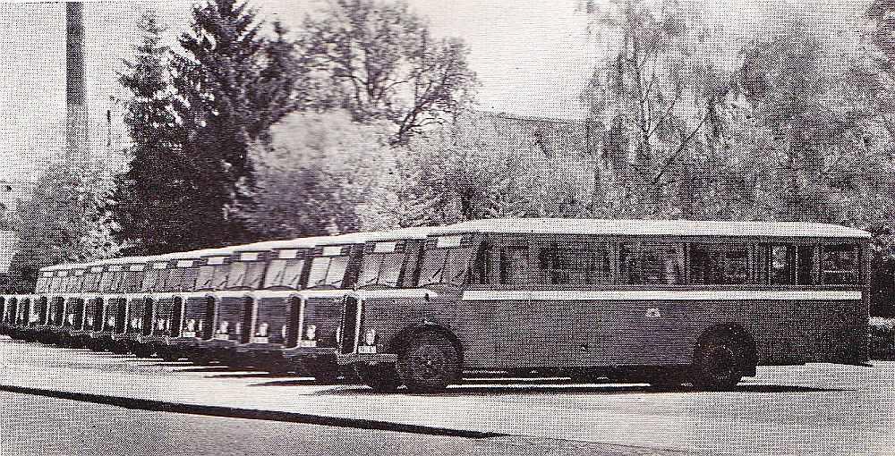"""""""Vairoga"""" autobusi."""