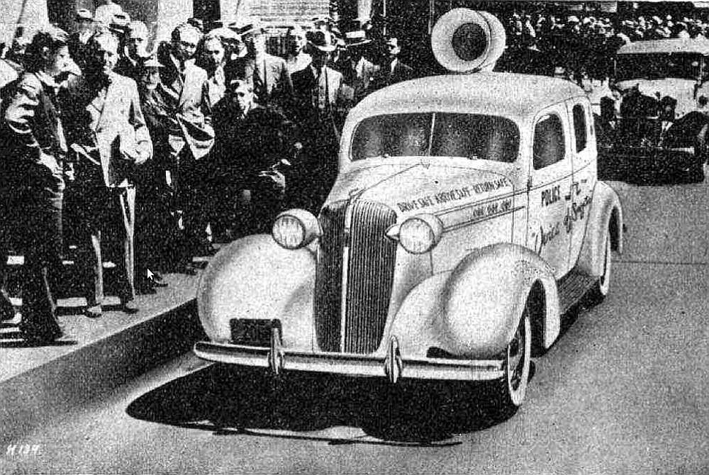 Satiksmes drošības auto 30. gadu ASV.
