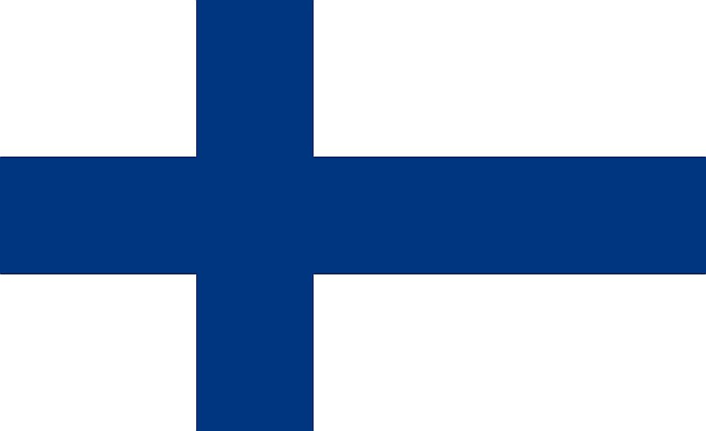 Somijas valsts karogs.