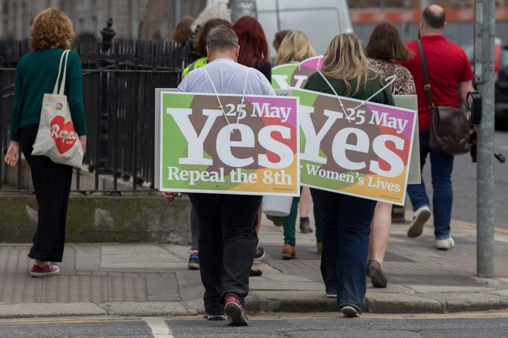 Īrijā referendums par abortu legalizāciju, 25.05.2018.