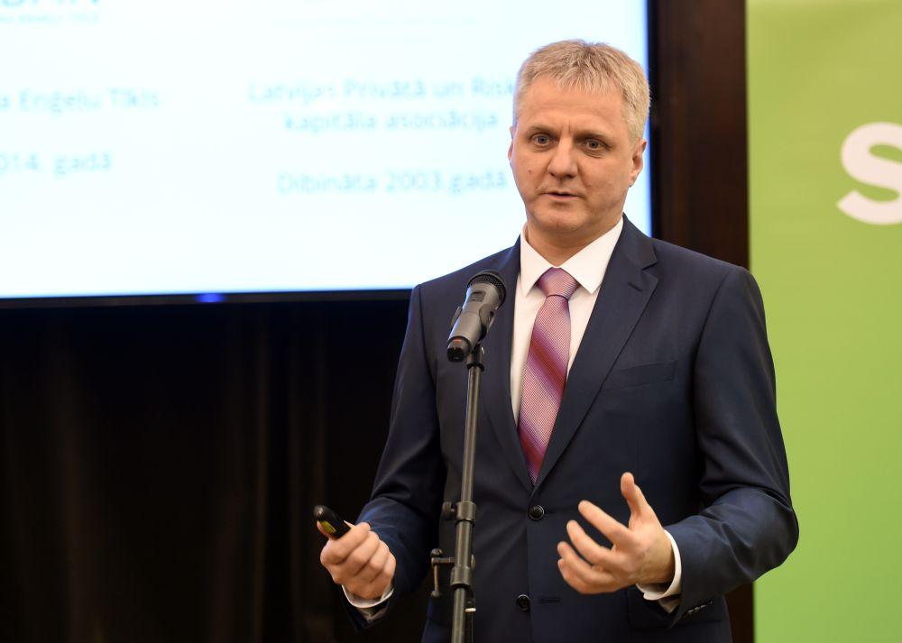 Latvijas Biznesa Eņģeļu tīkla valdes loceklis un investors Juris Birznieks