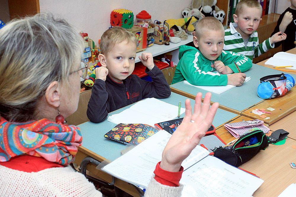 Druvienas sākumskolas bērnudārza grupiņā vairāk bērnu nekā visā skolā. Mazie te paliks arī nākamajā mācību gadā.