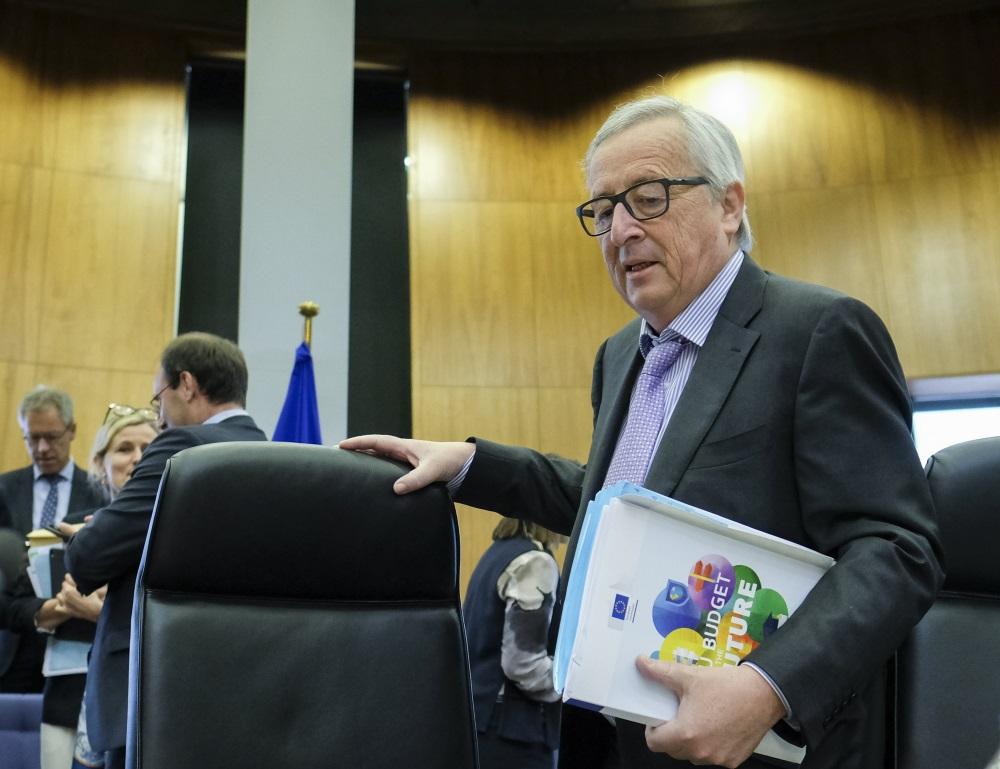 EK priekšsēdētājs Žans Klods Junkers, 02.05.2018.