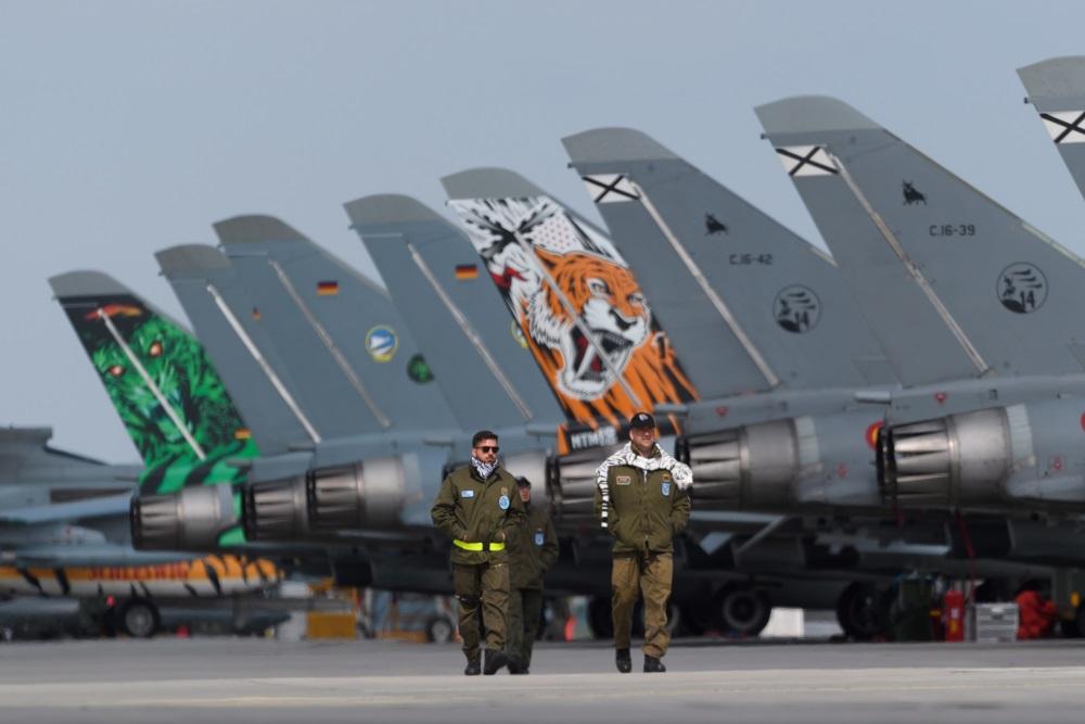 NATO karavīru treniņš, 18.05.2018.