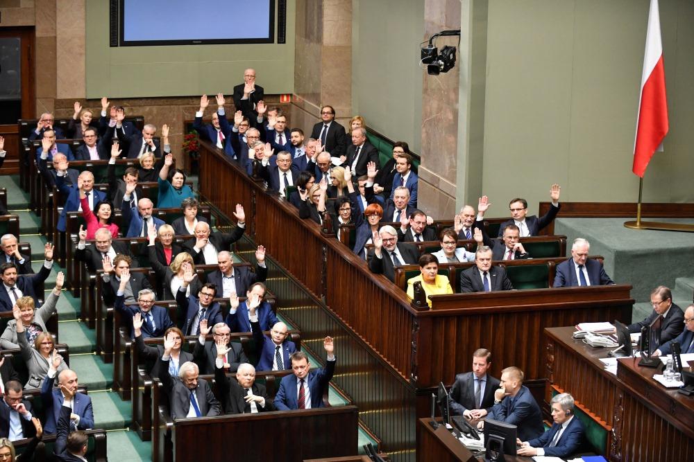 Arhīva foto. Polijas parlaments.