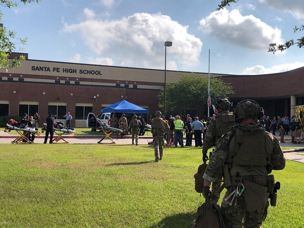 Apšaude ASV, Teksasas skolā, 18.05.2018.