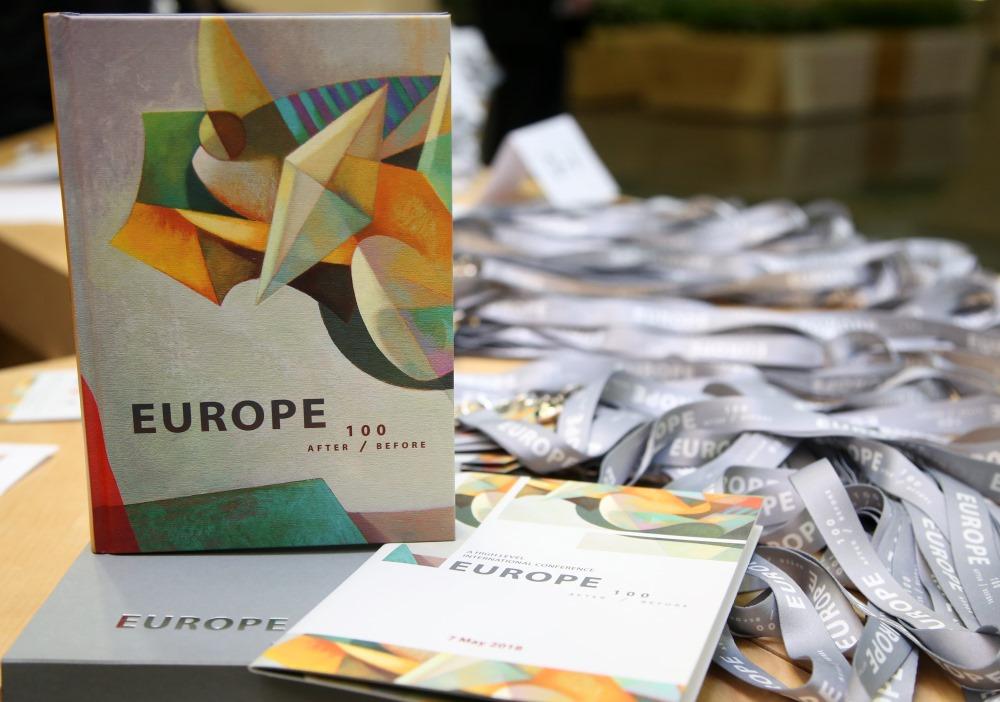 """Konference """"Eiropa. Pēc 100 Pirms"""", 07.05.2018."""