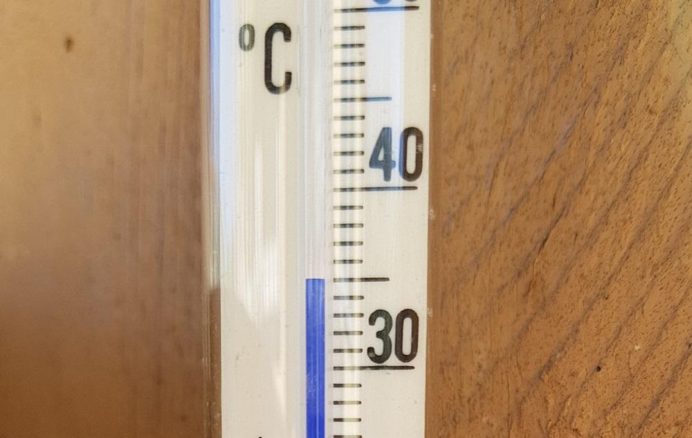 Rīgā jau vakar, 11.maijā, temperatūras stabiņš pakāpās līdz +35 grādiem!