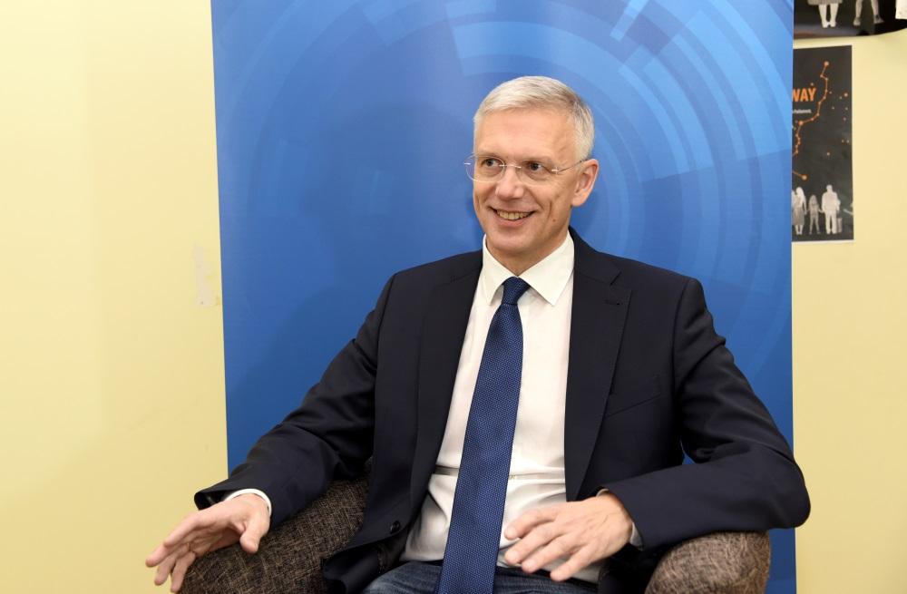 Eiropas Parlamenta deputāts Krišjānis Kariņš.