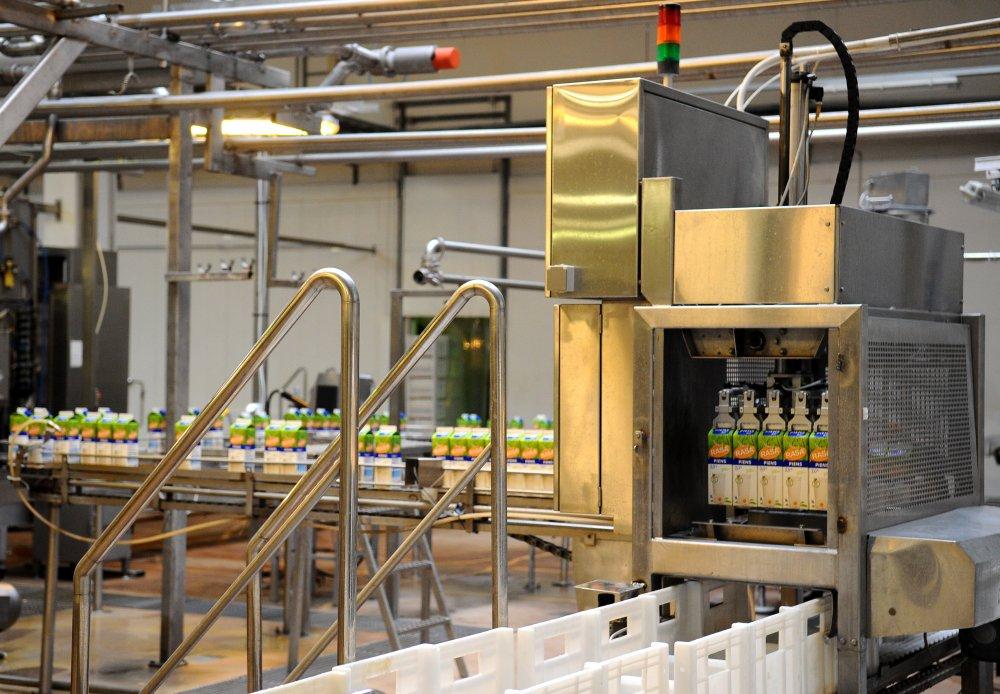 Uzņēmuma ražotne. Foto: LETA