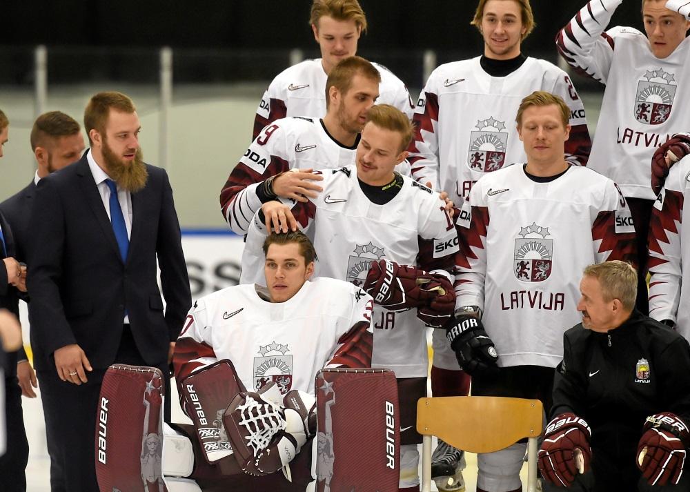 Latvijas hokeja izlase Herningā – Pasaules hokeja čempionātā, 11.05.2018.