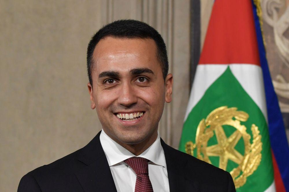 Pieczvaigžņu kustības līderis Luidži Di Maio.