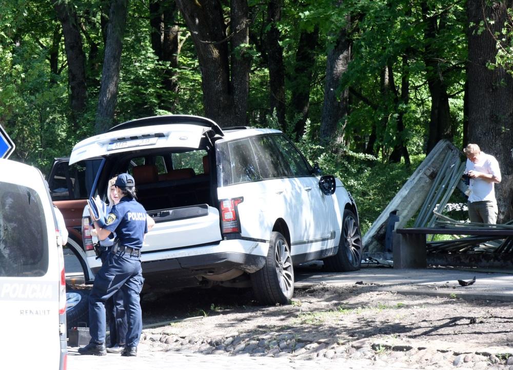 Maksātnespējas administratora Mārtiņa Bunkus slepkavības vieta, 30.05.2018.