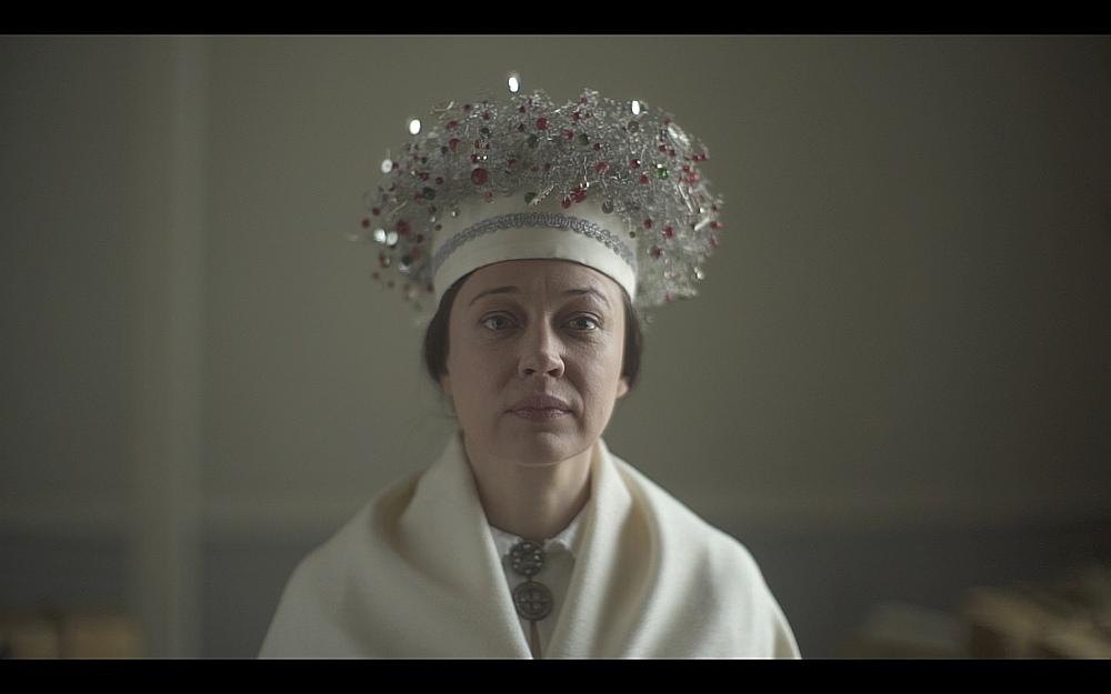 """Kadrs no Kristīnes Želves dokumentālās filmas """"Mērijas ceļojums""""."""