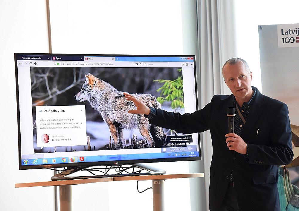 Nacionālās enciklopēdijas galvenais redaktors Valters Ščerbinskis cer, ka ar laiku enciklopēdijas interneta versija kļūs par populārāko uzziņu vietni latviešu valodā.
