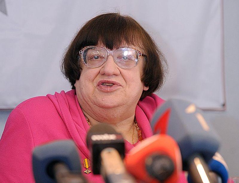 Valērija Novodvorska (1950 – 2014).