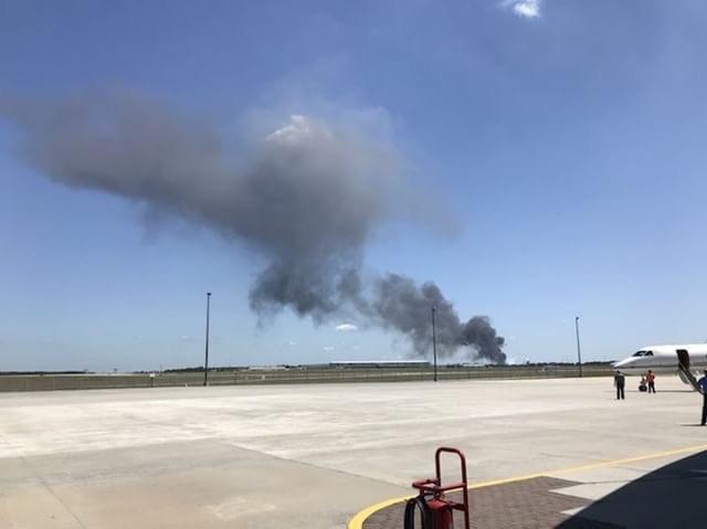 ASV deviņi cilvēki iet bojā militārās lidmašīnas reisā, 02.05.2018.