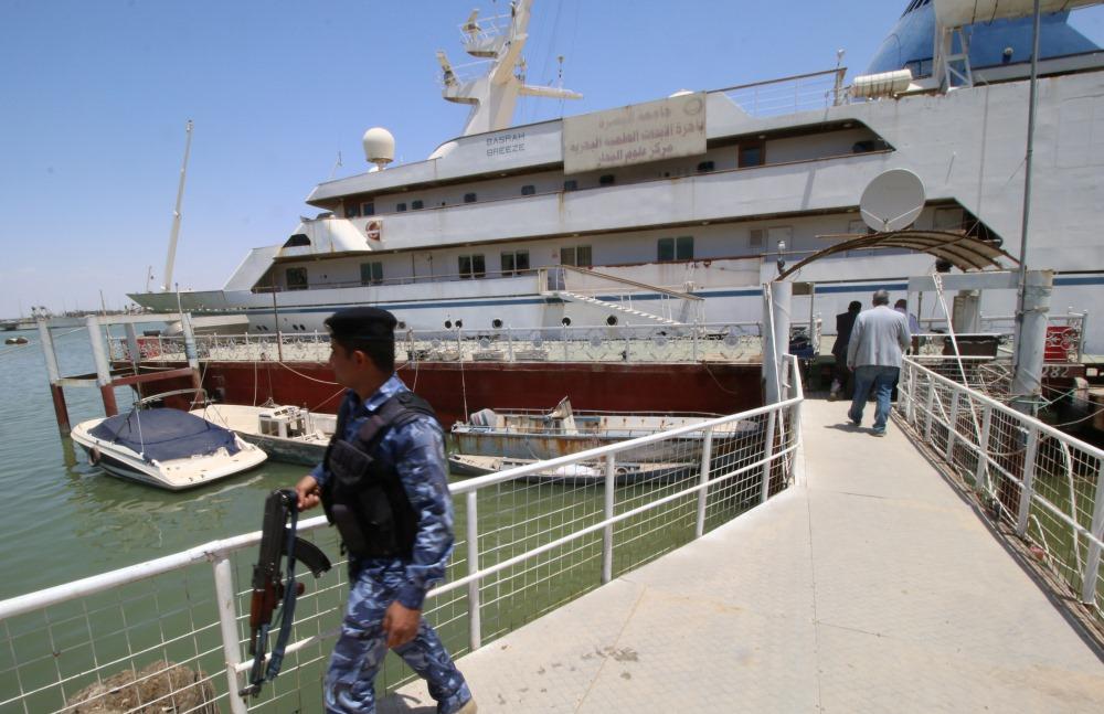 Diktatora Sadama Huseina luksusa jahta, 23.05.2018.