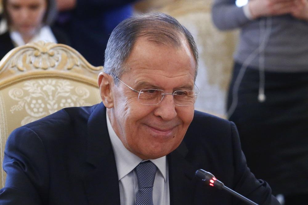 Krievijas ārlietu ministrs Sergejs Lavrovs, 18.05.2018.