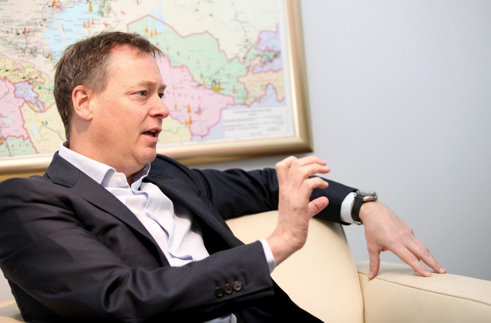 """""""Vitol Baltics"""" valdes priekšsēdētājs Roberts Kirkups."""