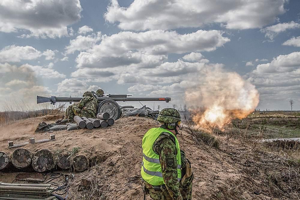 """Igaunijas rīkotās mācības """"Siil"""" pulcēja ap 18 000 karavīru."""