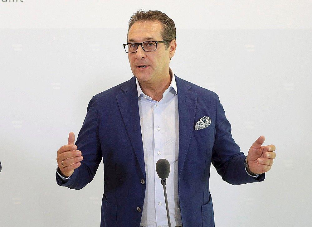 Austrijas vicekanclers Heincs Štrāhe