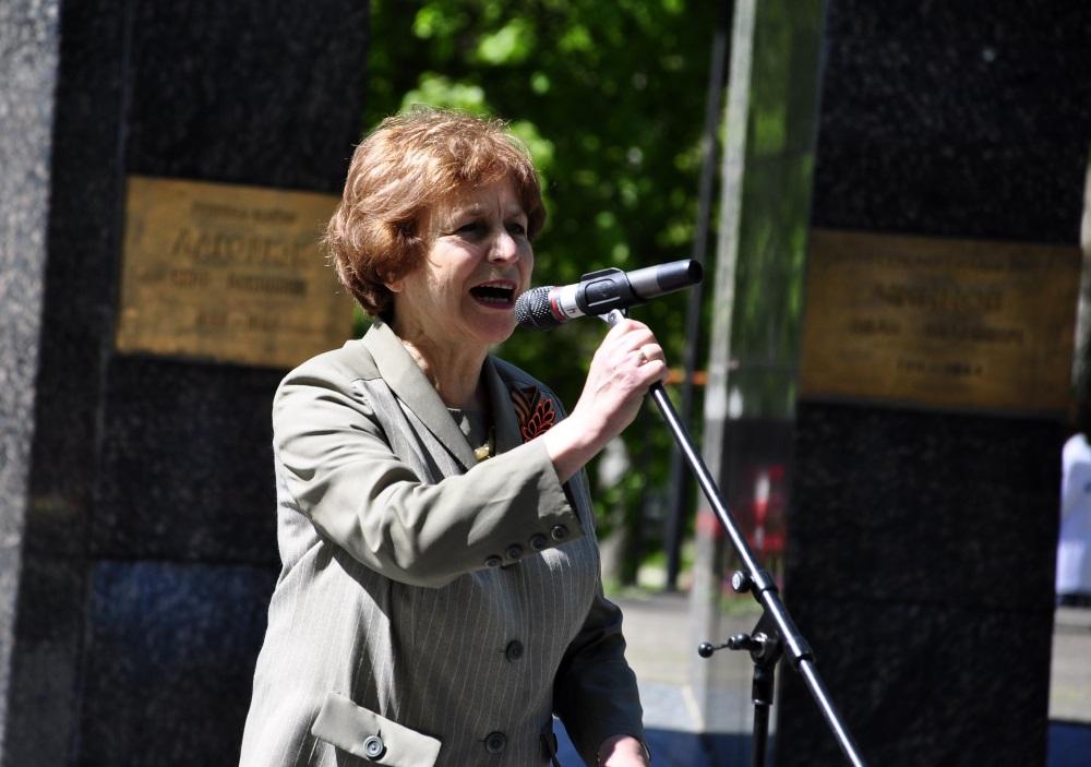Tatjana Ždanoka, 09.05.2018.