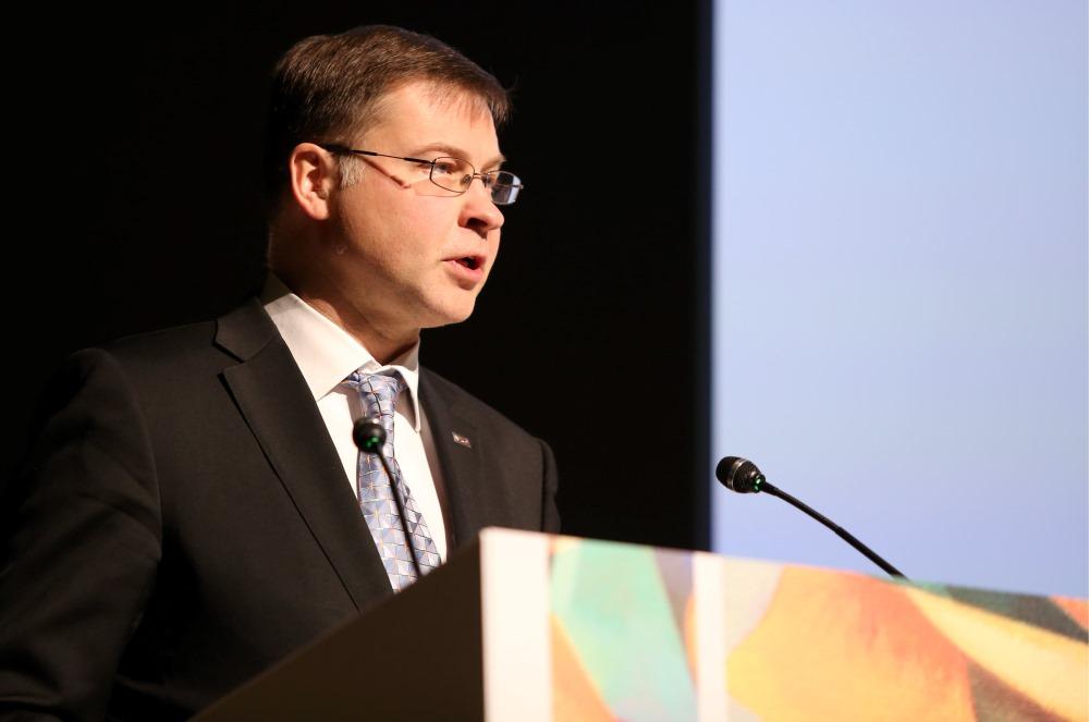 Valdis Dombrovskis, 07.05.2018.