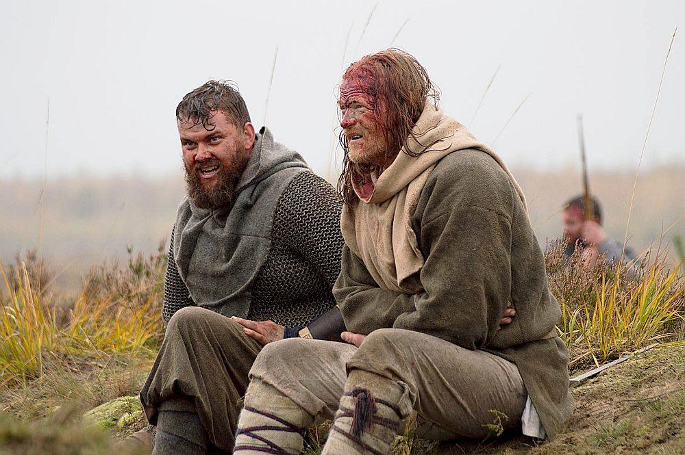 """Kadrs no brāļu Ābeļu dokumentālās drāmas """"Baltu ciltis. Pēdējie Eiropas pagāni""""."""